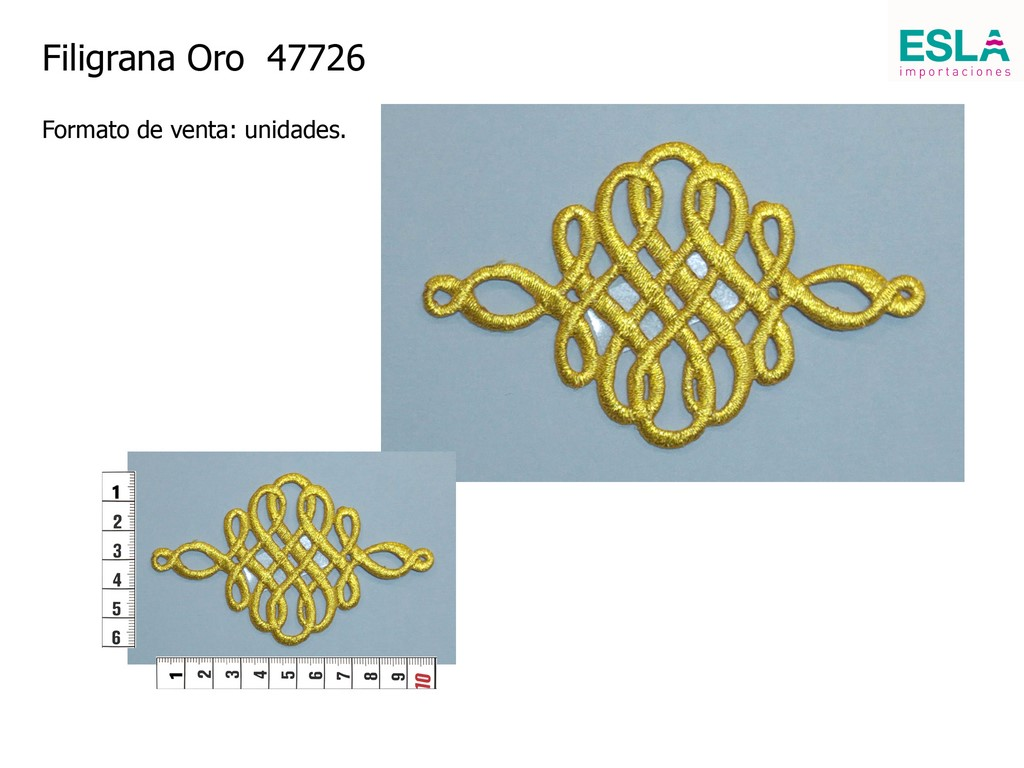Filigrana oro 47726
