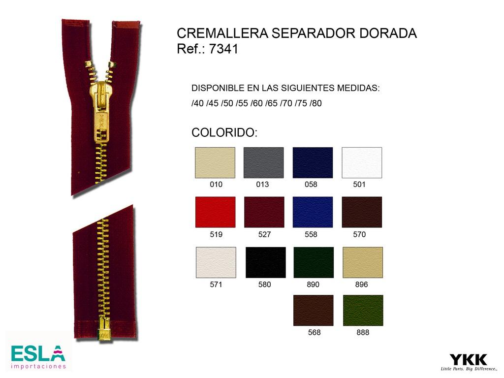Cremallera 7341