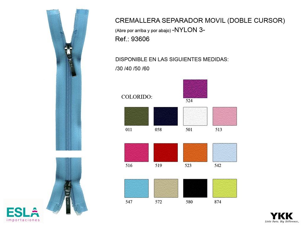 Cremallera 93606