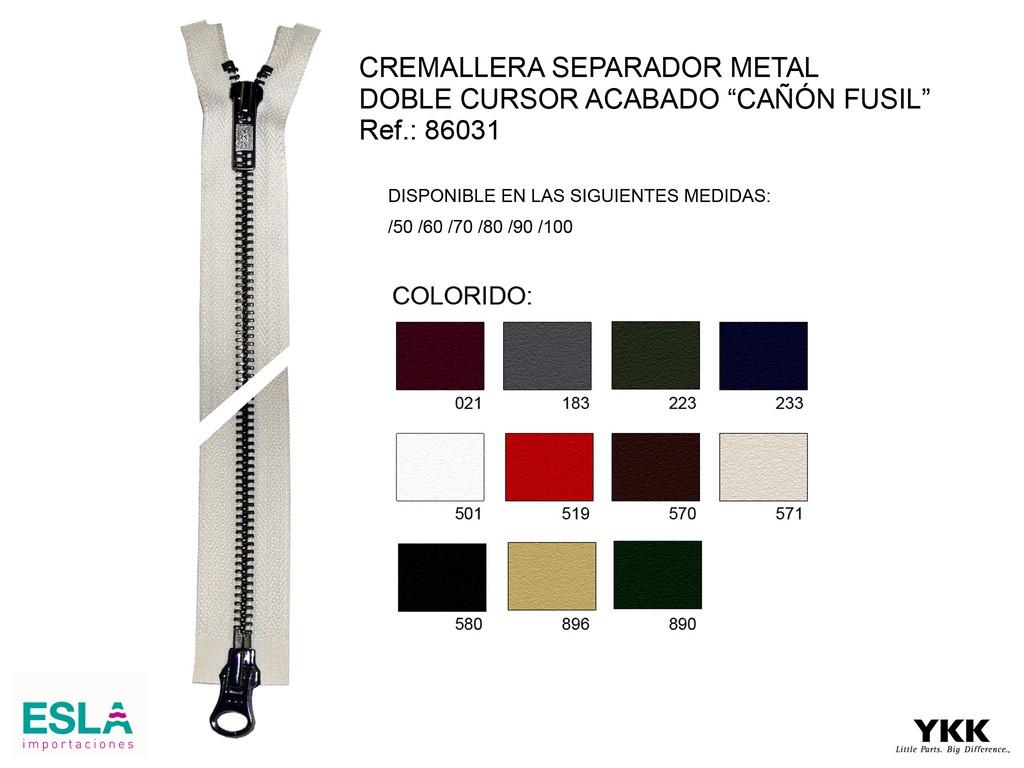 Cremallera 86031