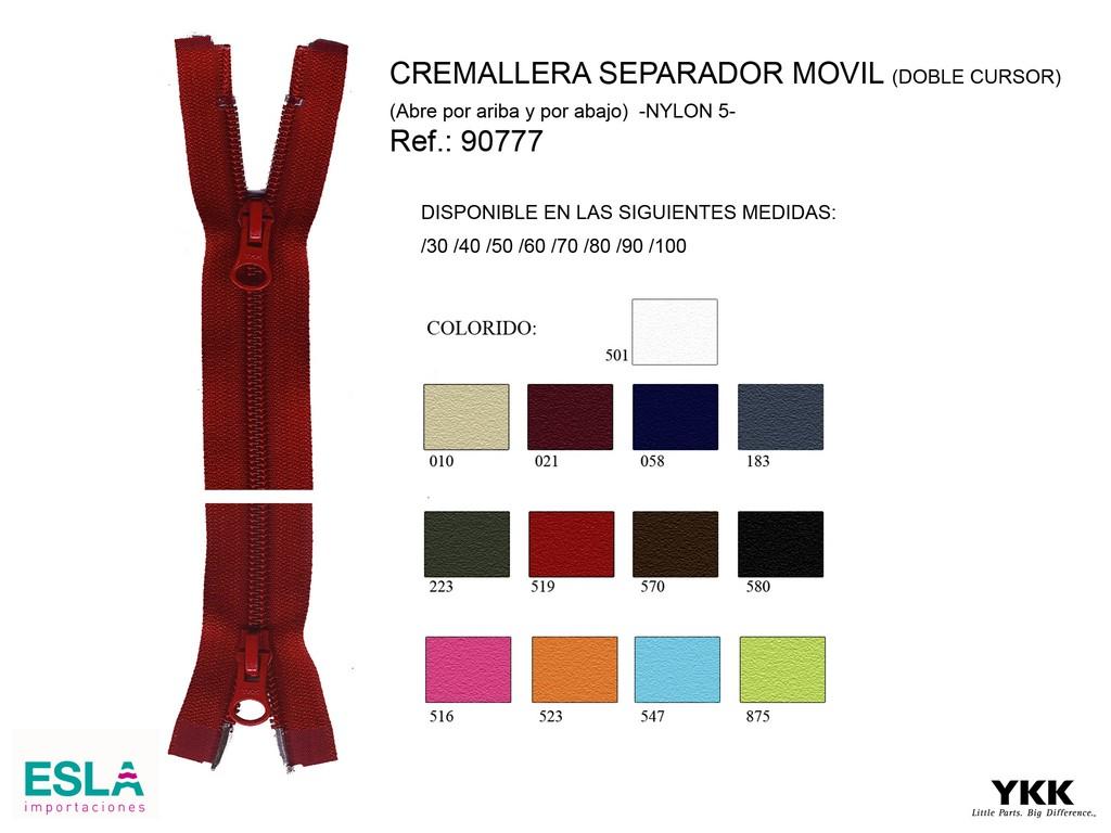 Cremallera 90777