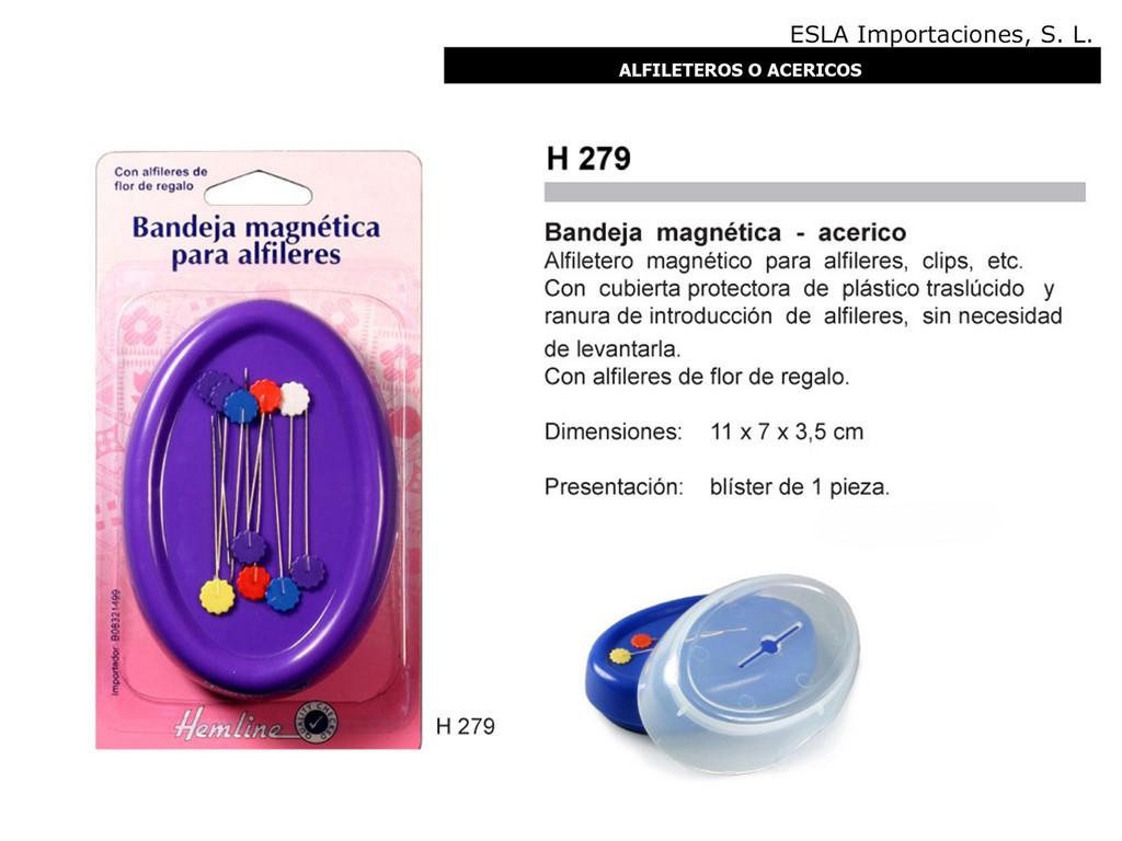 Alfiletero bandeja magnetica H279