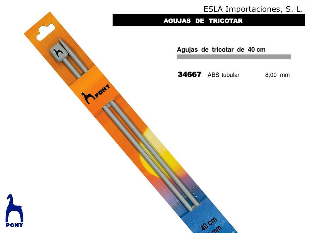 Aguja tricotar 34667