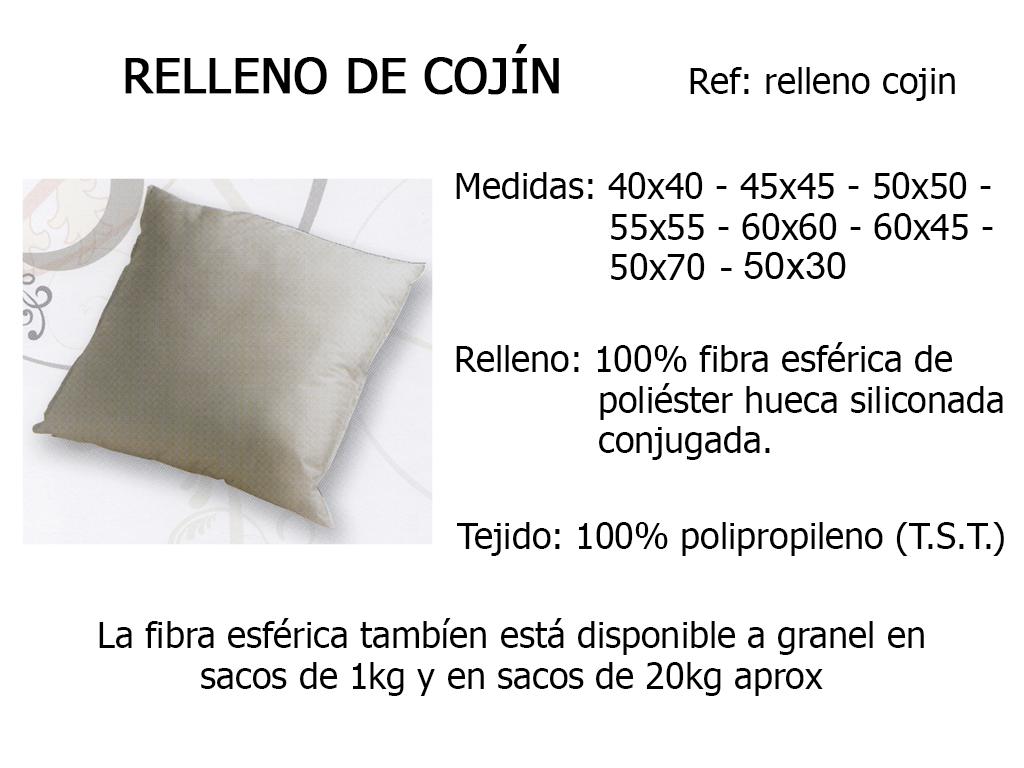RELLENO COJIN