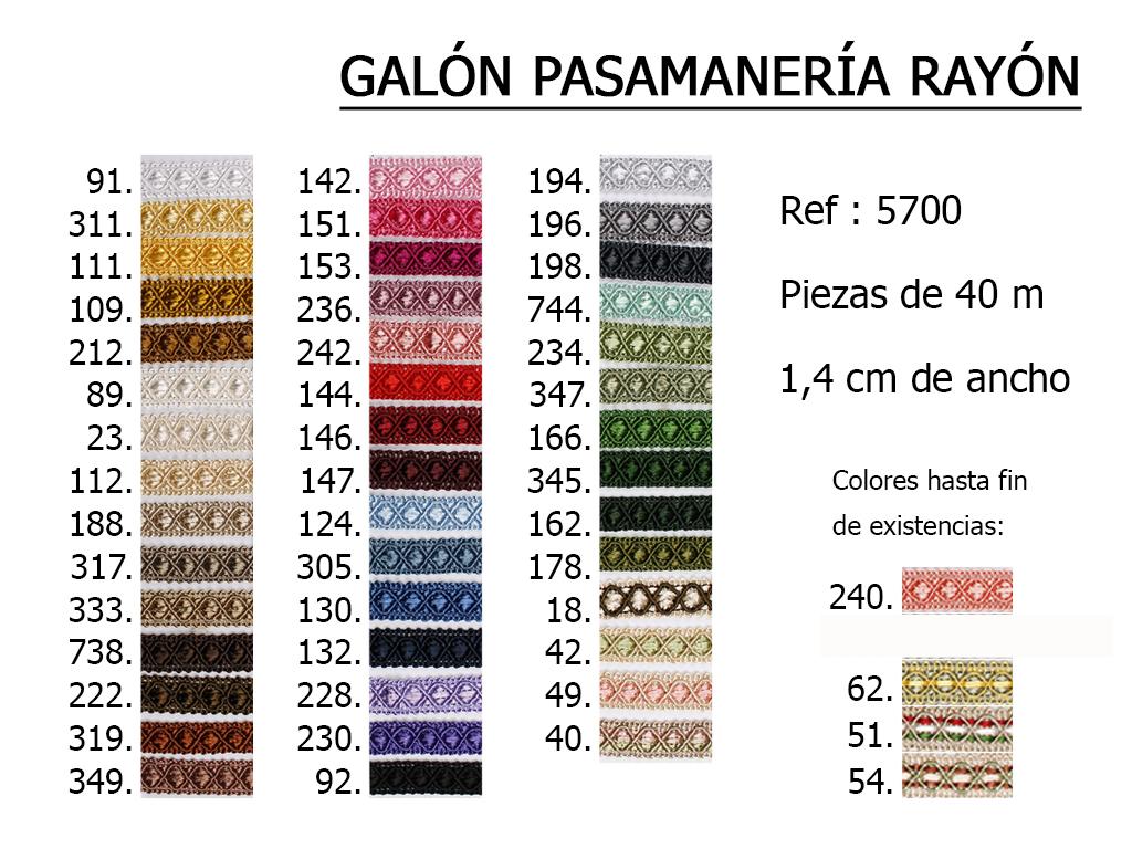 Galon Rayon 5700