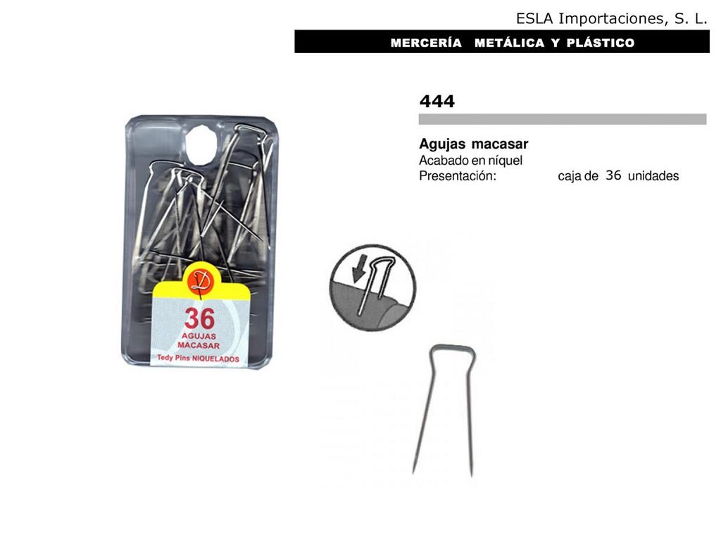 Agujas macasar 444