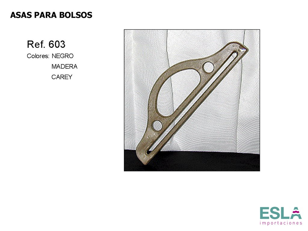 ASAS PARA BOLSOS 603