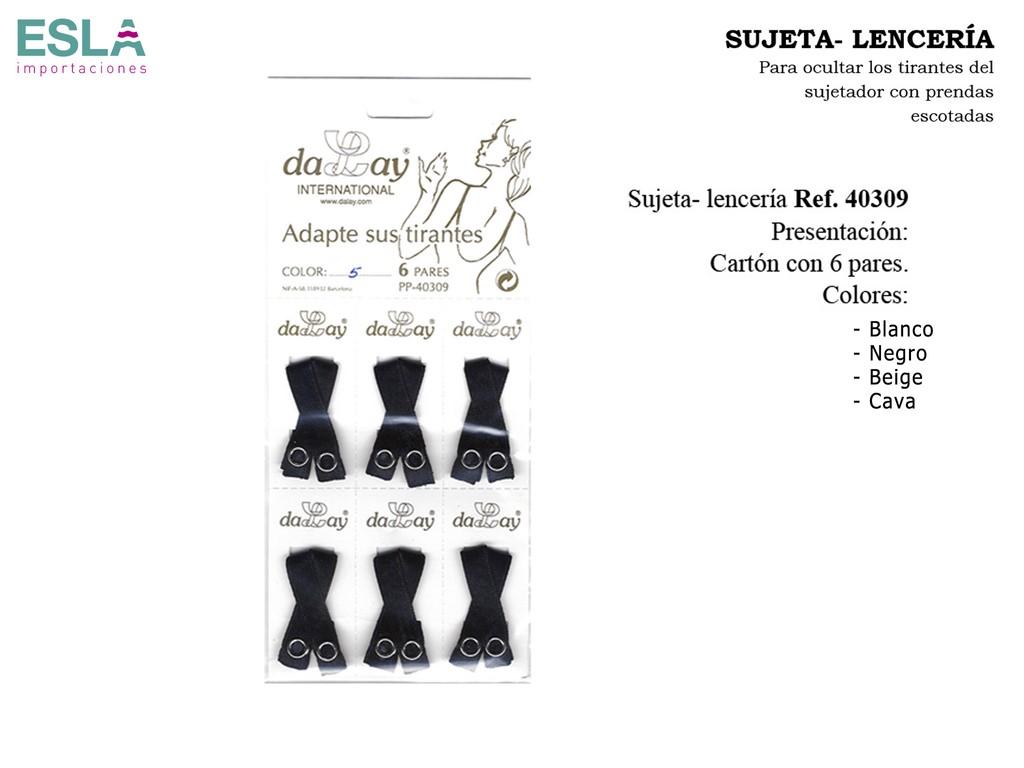 SUJETA LENCERÍA CLASICO 40309