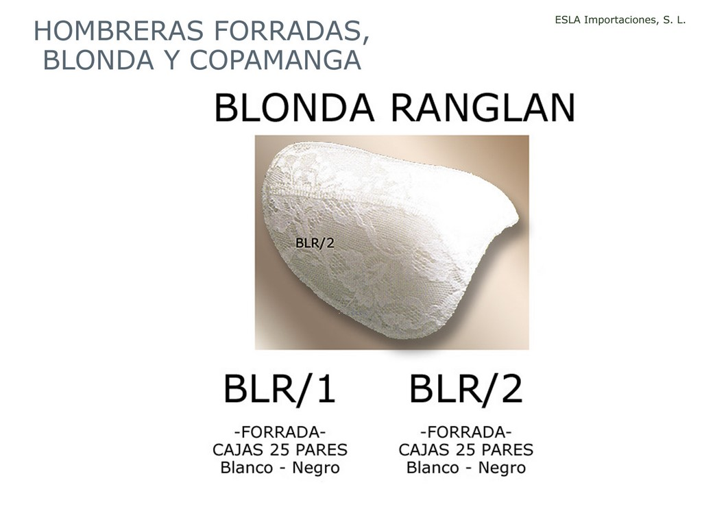 HOMBRERA FORRADA BLONDA RANGLAN BLR1 BLR2