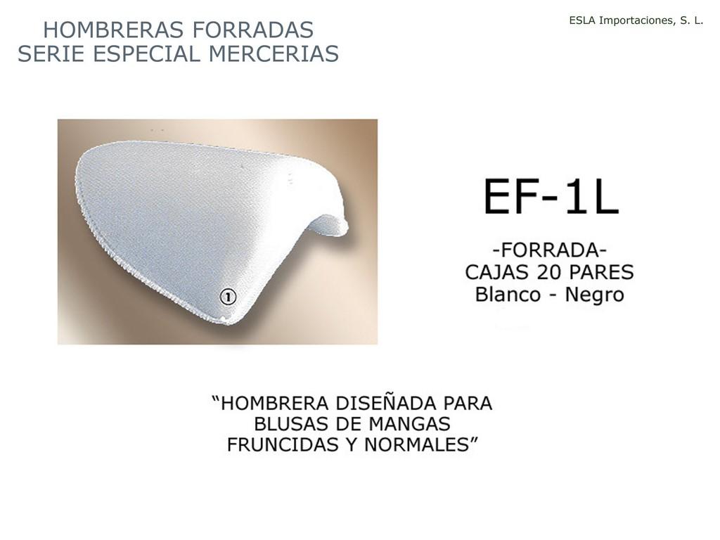 Hombrera forrada especial merceria EF-1L