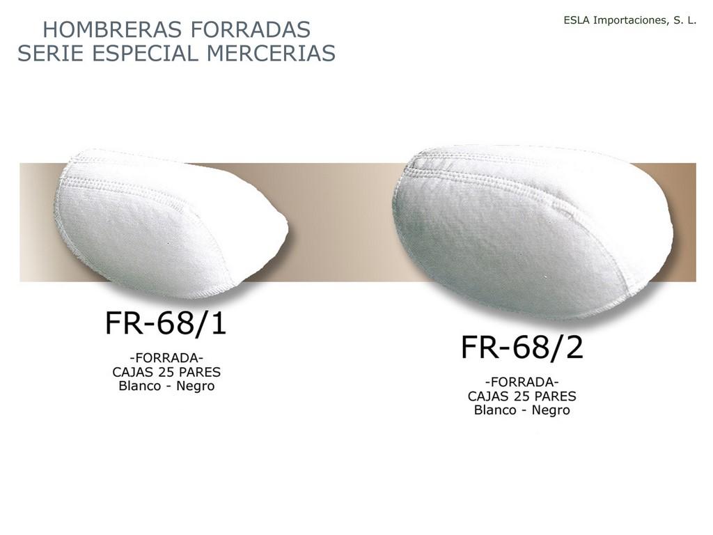 Hombrera Forrada Especial Merceria FR68-1 y FR68-2