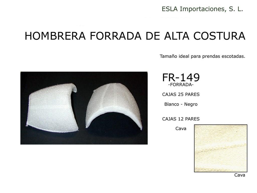 Hombrera forrada Alta Costura FR-149