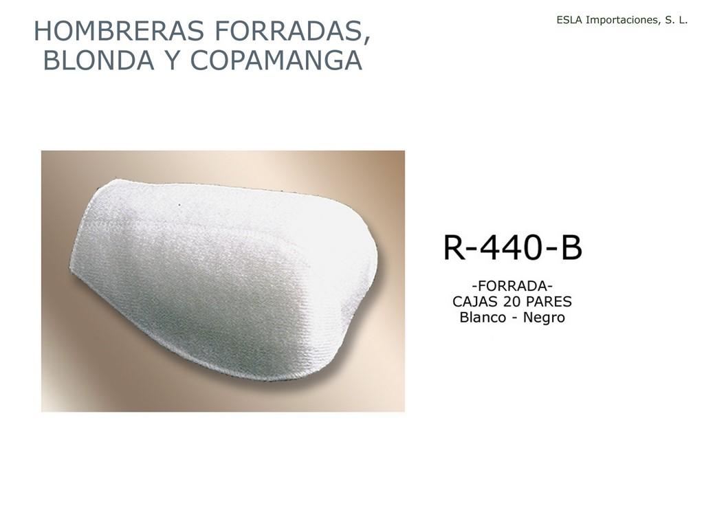 Hombrera forrada R-440-B