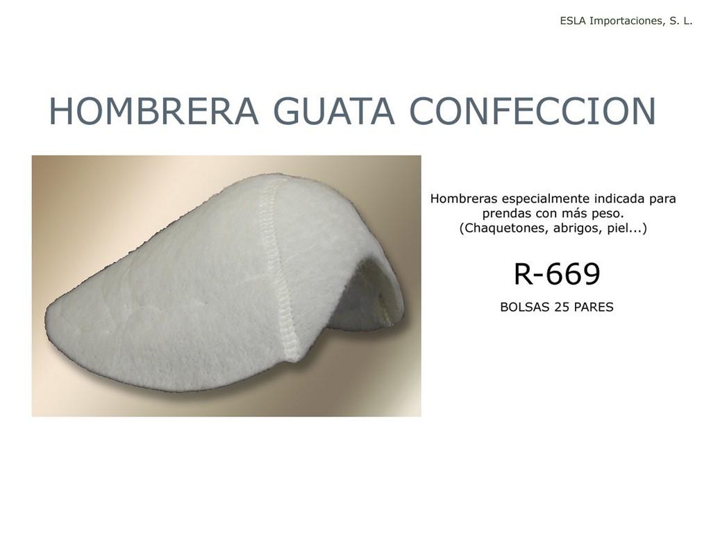 Hombrera guata confeccion R-669