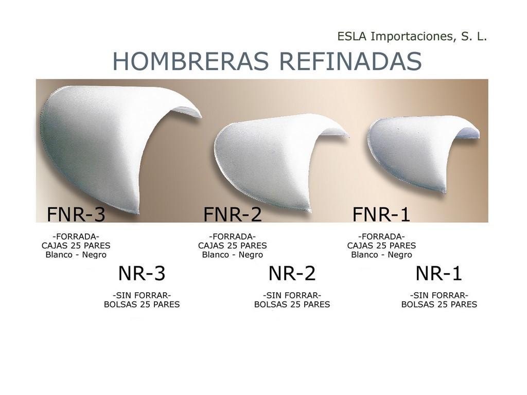Hombreras Refinadas FNR-3 , FNR-2 , FNR-1 , NR-3 , NR-2 , NR-1
