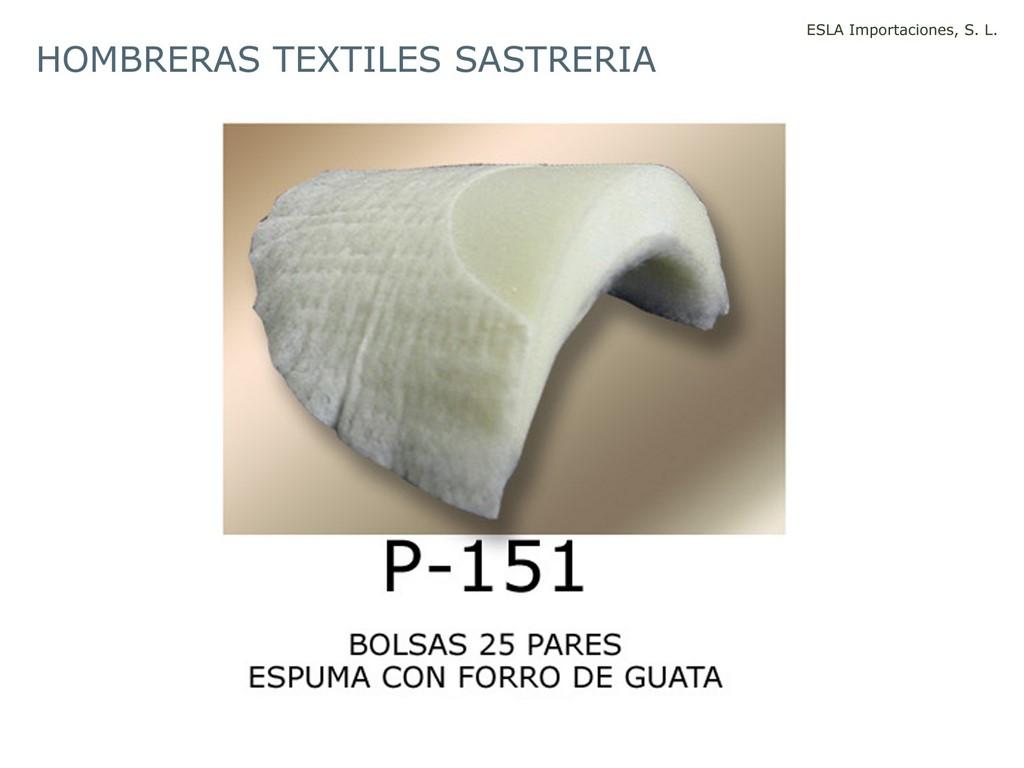 Hombrera textil sastreria P-151