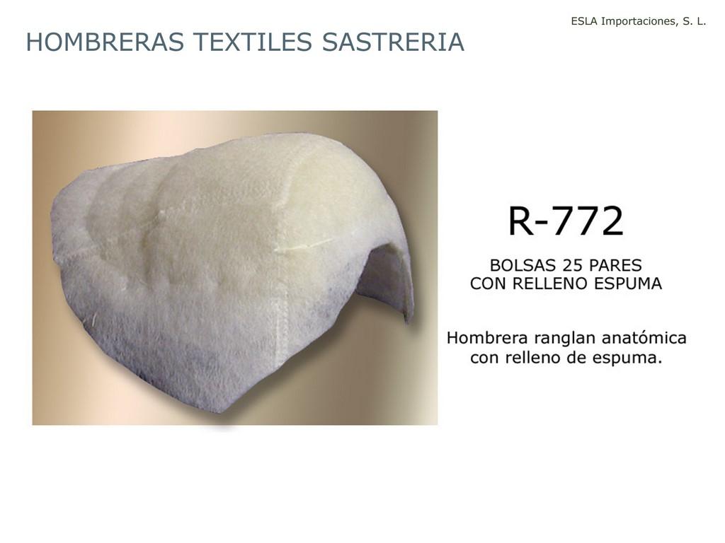 Hombrera textil sastreria R-772