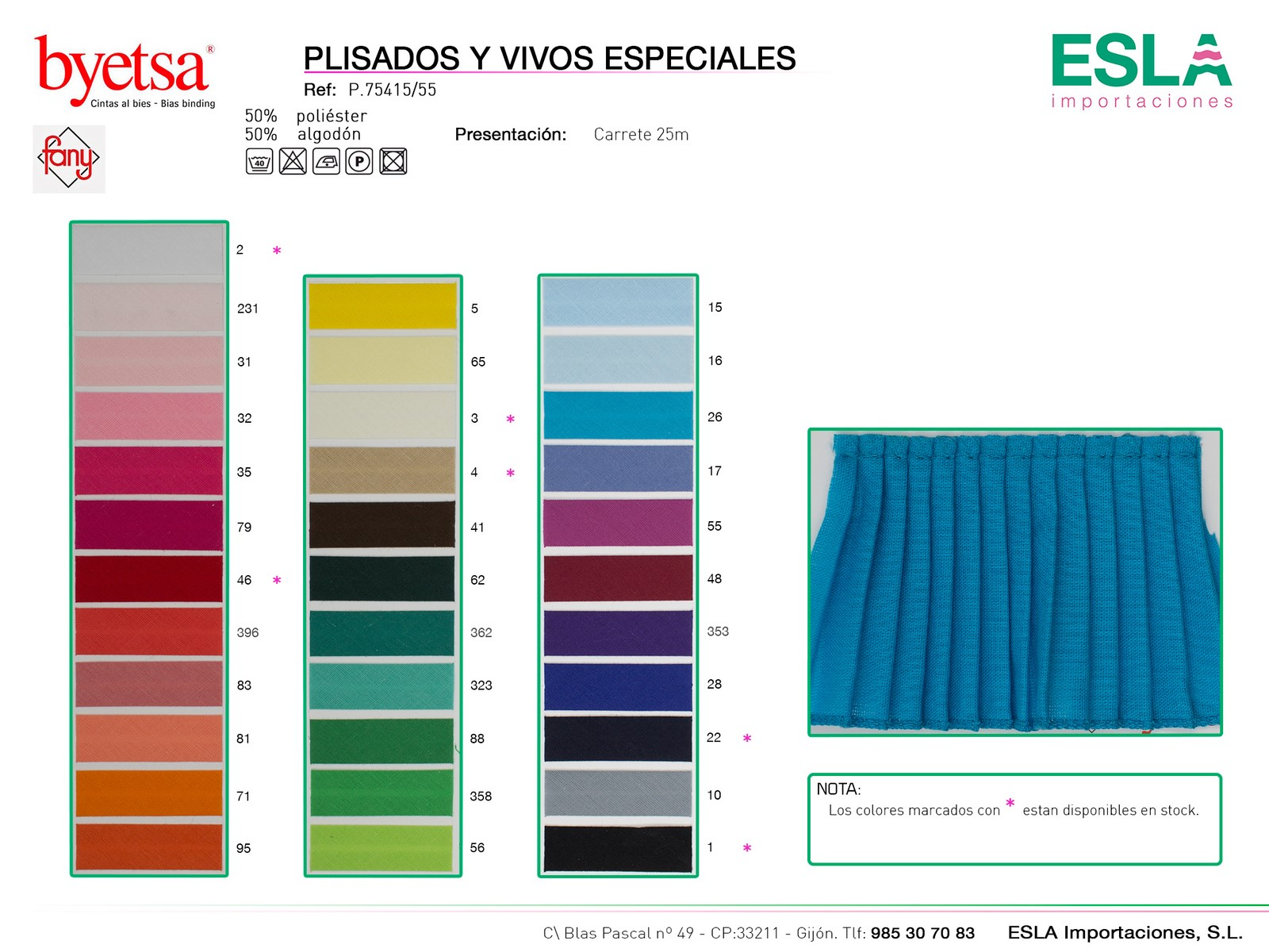 PLISADO 75415-55