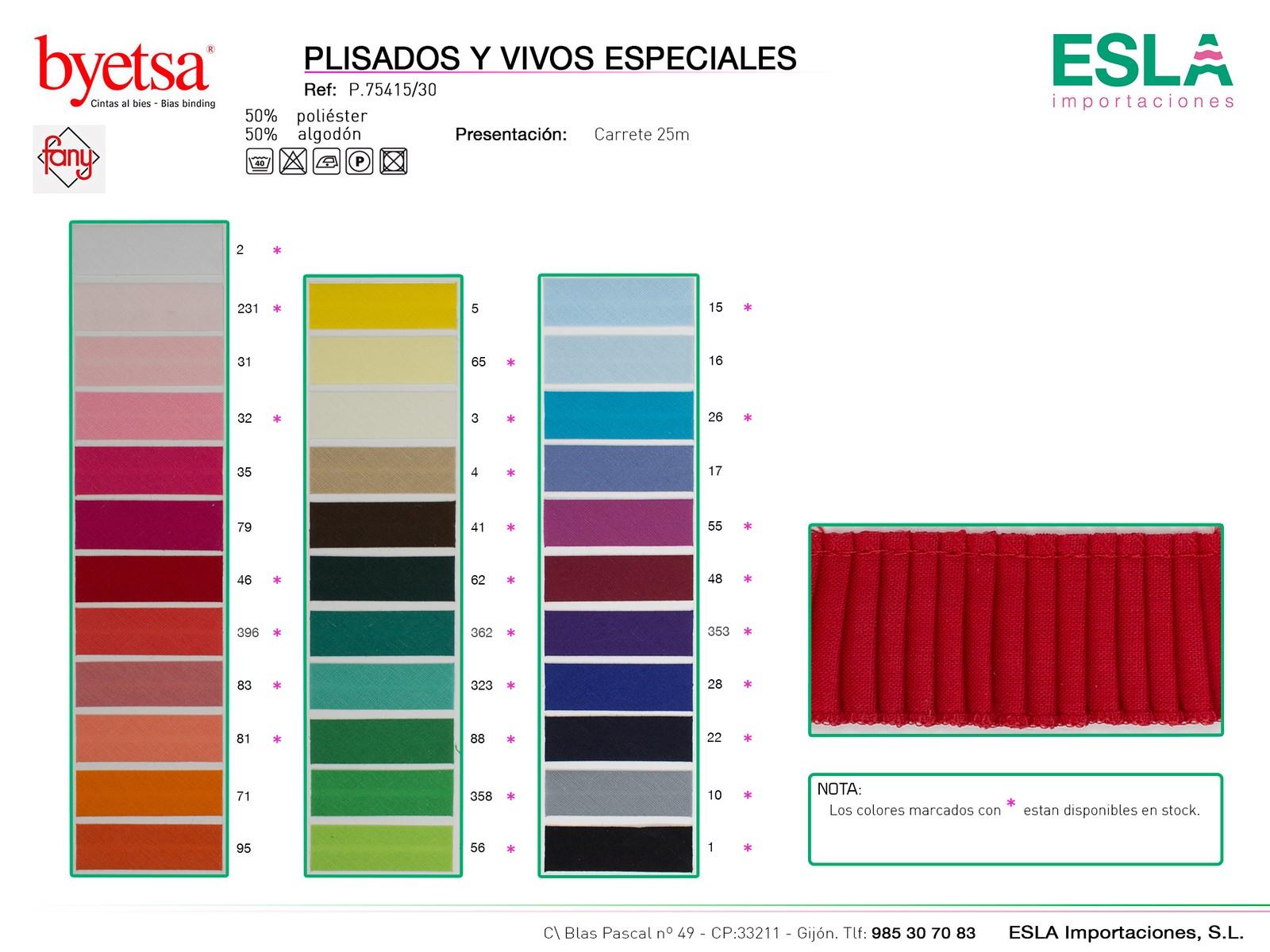 PLISADO 75415-30