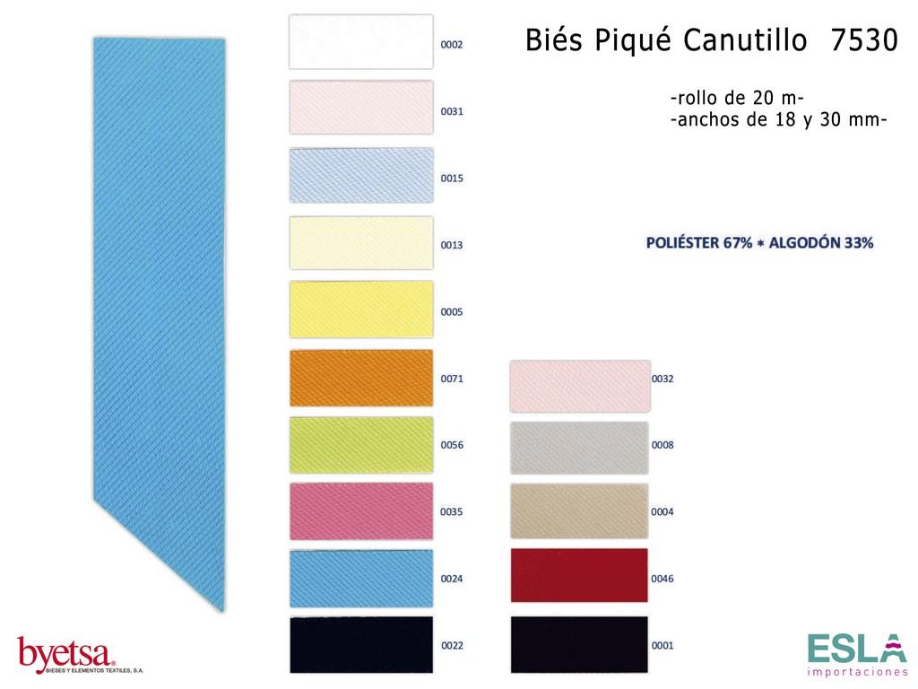 BIES 7530 PIQUE CANUTILLO