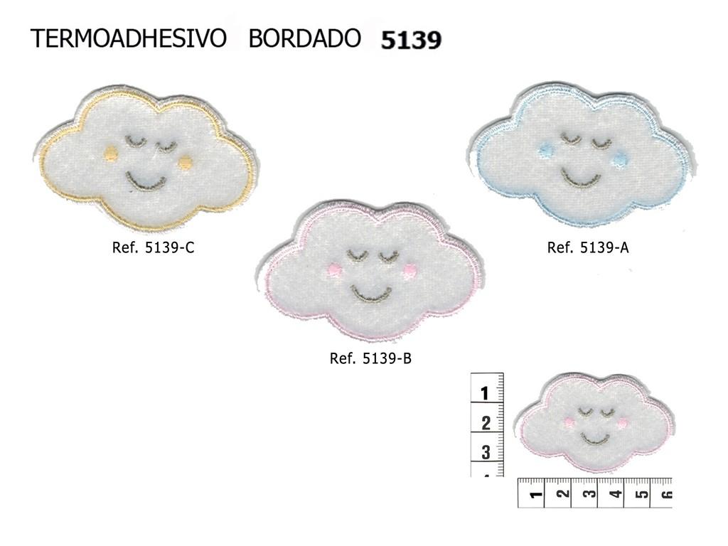 TERMOADHESIVO BORDADO NUBE 5139