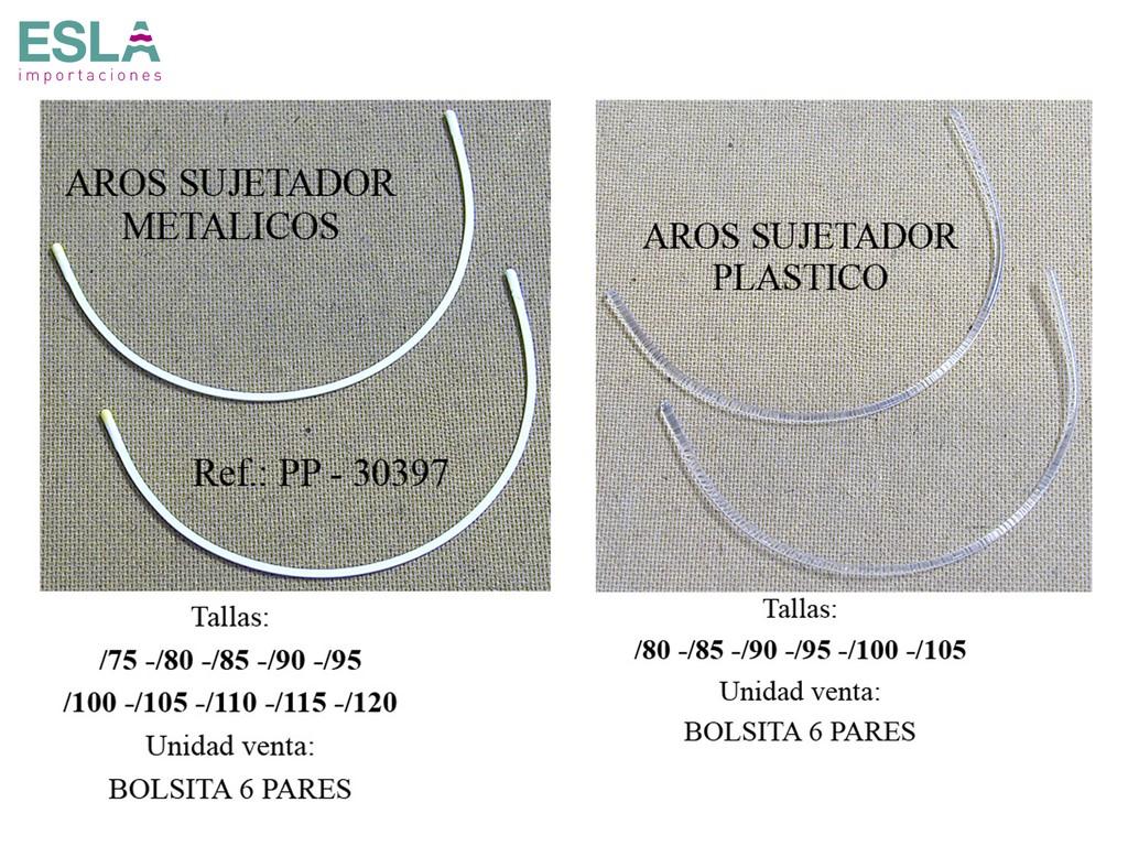 AROS SUJETADOR METAL Y PLASTICO PP-30397