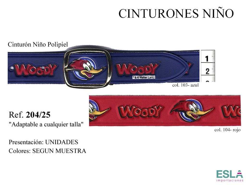 CINTURON NIÑO POLIPIEL 204