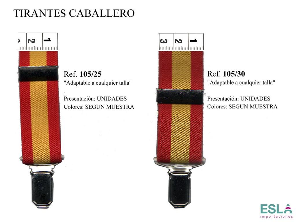 TIRANTES CABALLERO 105