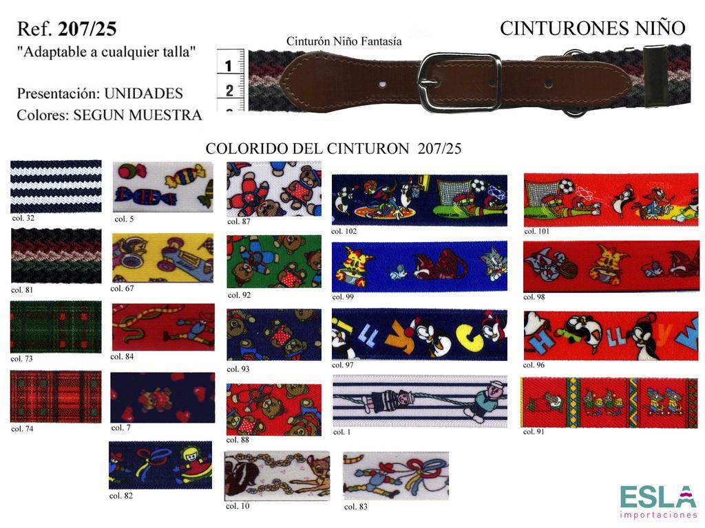 CINTURON NIÑO FANTASIA 207