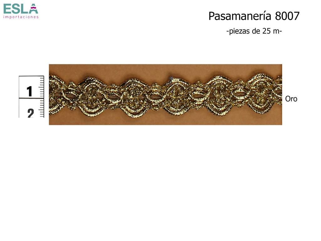 PASAMANERÍA 8007