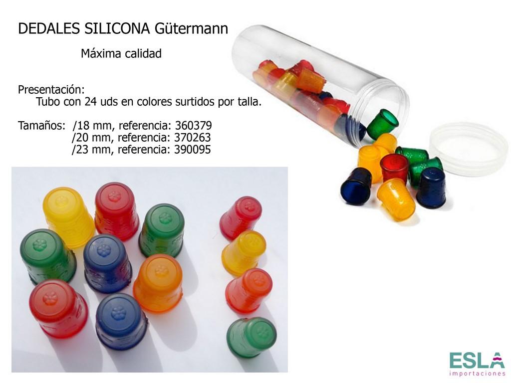 DEDALES SILICONA EN TUBO