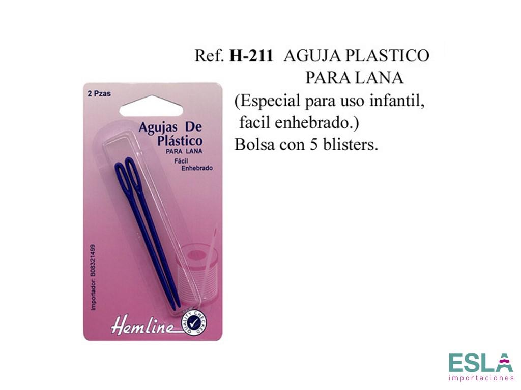 AGUJA PLASTICO PARA LANA H-211