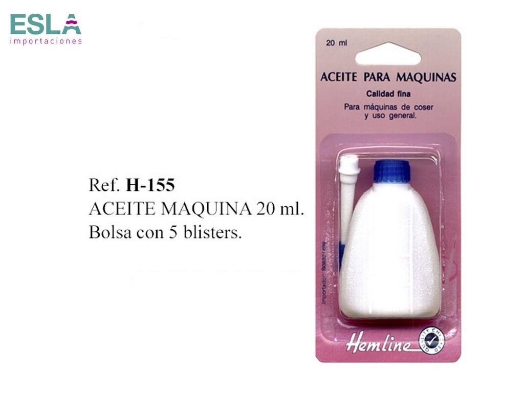 ACEITE MAQUINA COSER H-155