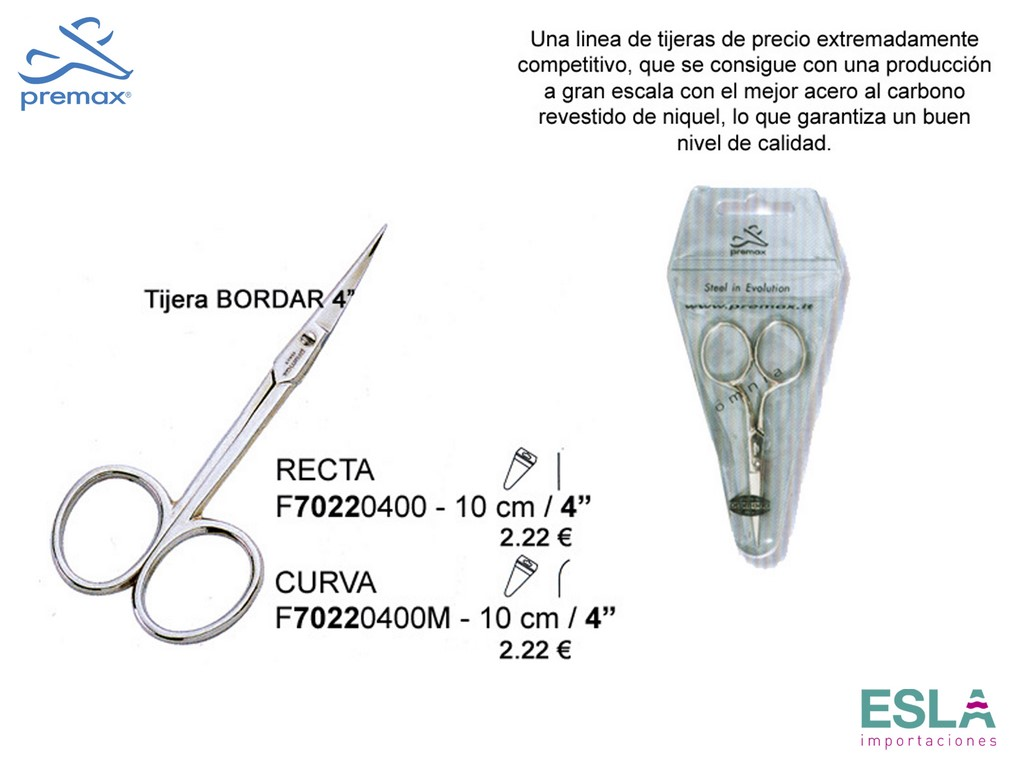 TIJERAS BORDAR F70220400 Y F70220400M