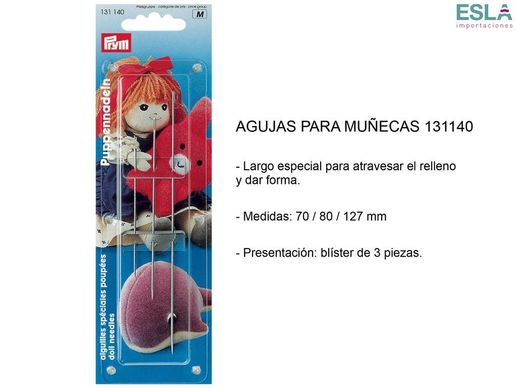 AGUJAS MUNECAS 131140