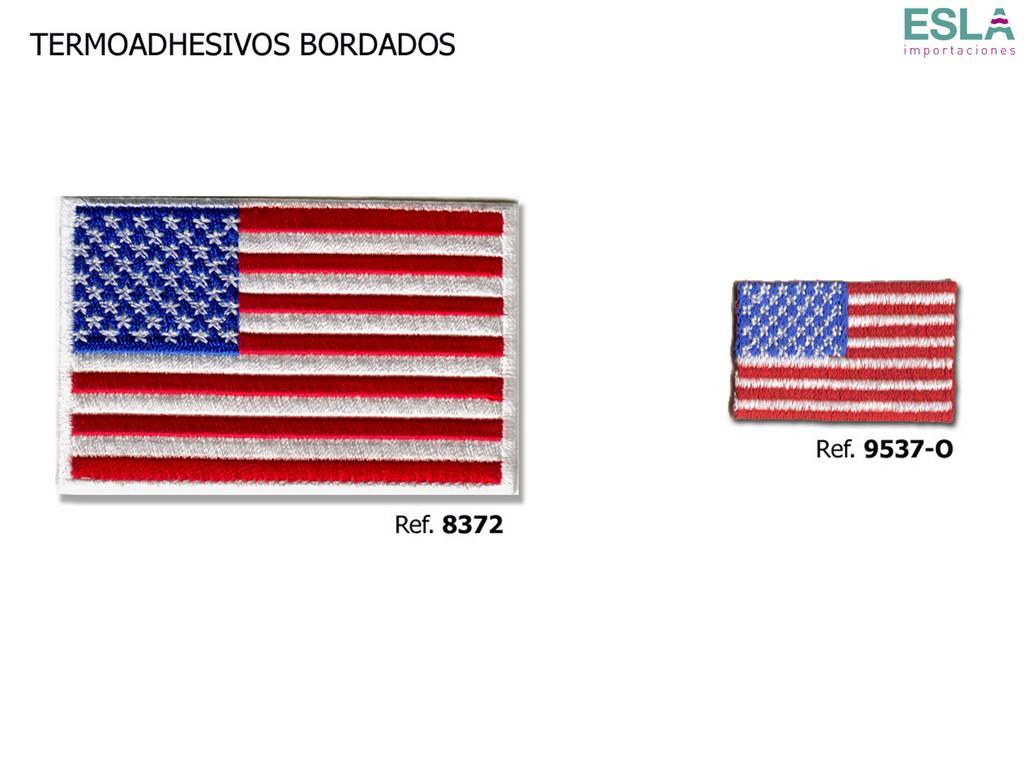 TERMOADHESIVO BORDADO ESTADOS UNIDOS 8372 ; 9537-O
