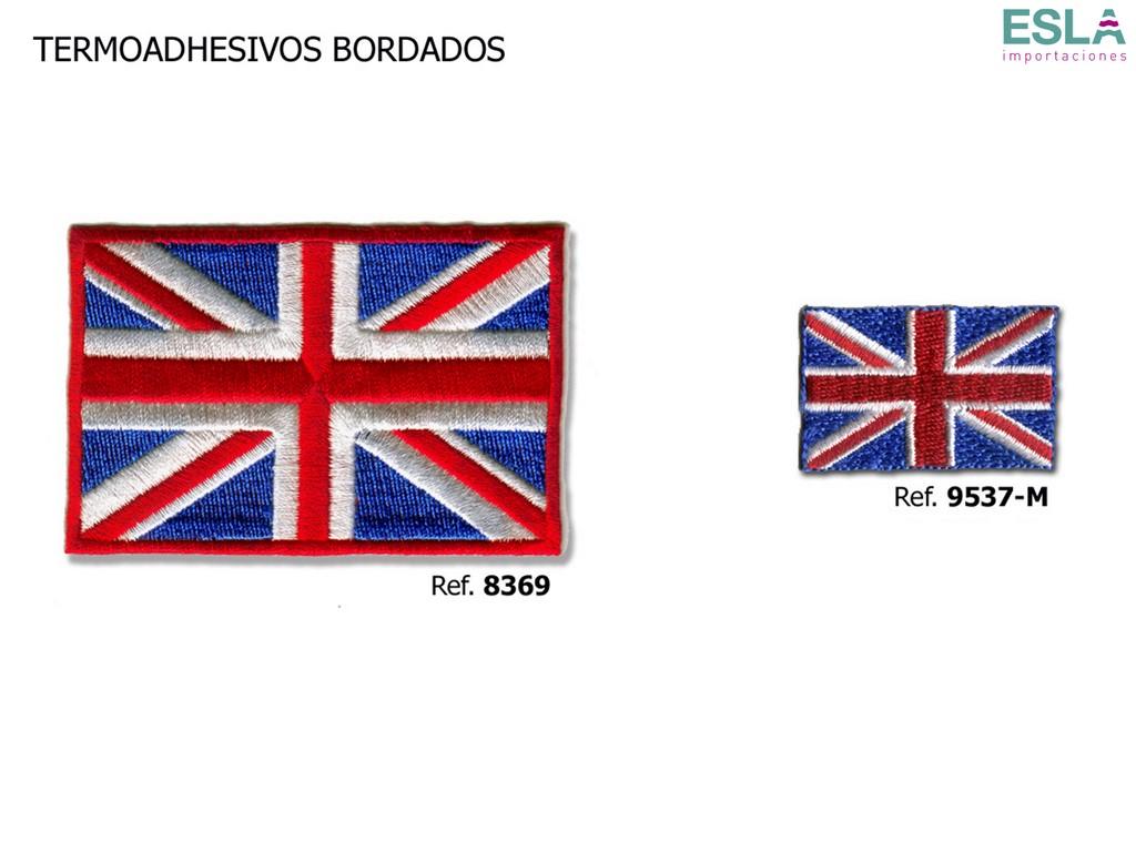TERMOADHESIVO BORDADO REINO UNIDO 8369 , 9537-M