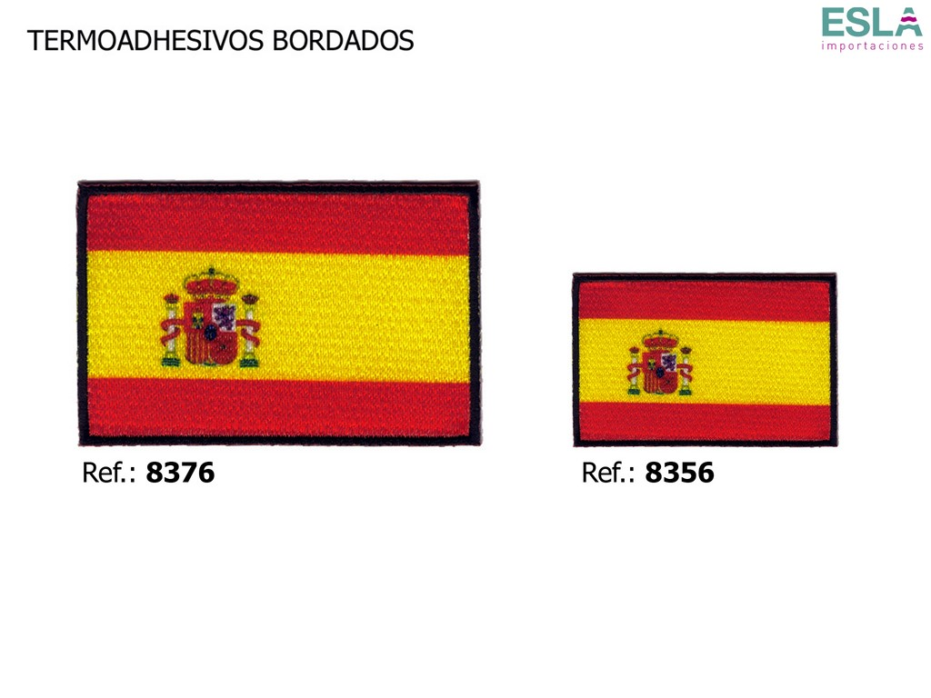TERMOADHESIVO BORDADO ESPANA 8356 - 8376