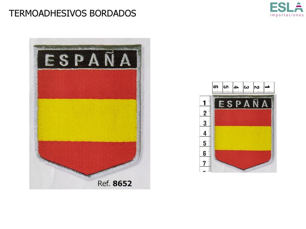 TERMOADHESIVO BORDADO BANDERA ESPANA 8652