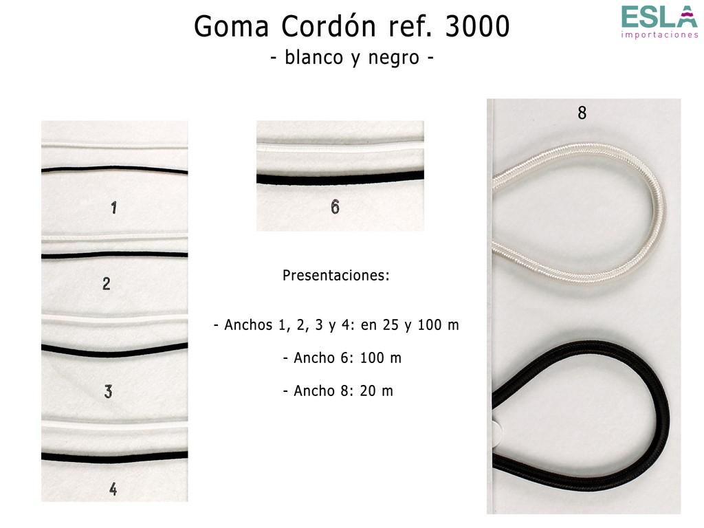 GOMA CORDON B-N 3000