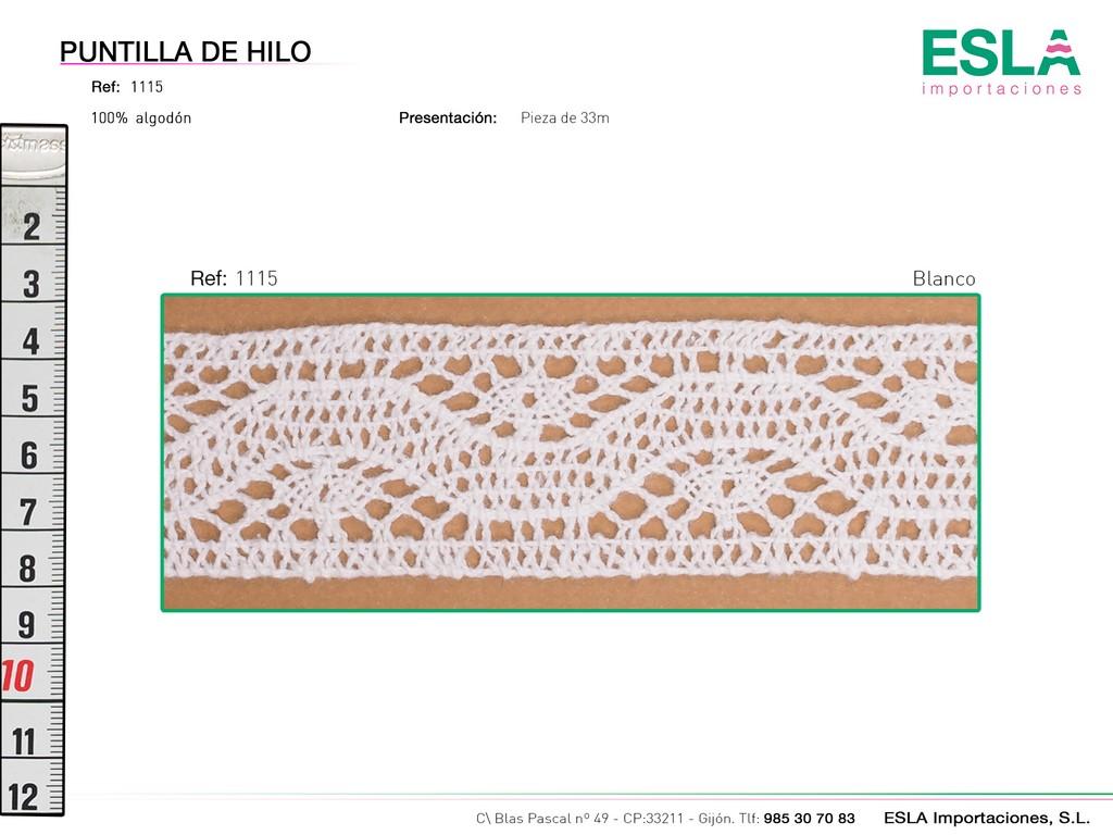 PUNTILLA HILO 1115
