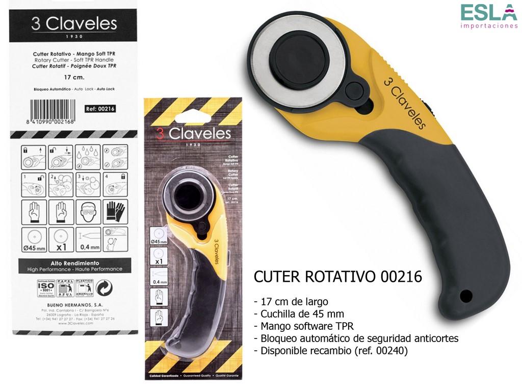 CUTTER ROTATIVO 00216