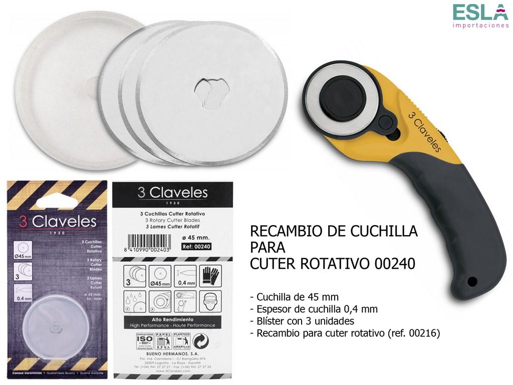 RECAMBIO CUTTER ROTATIVO 00240