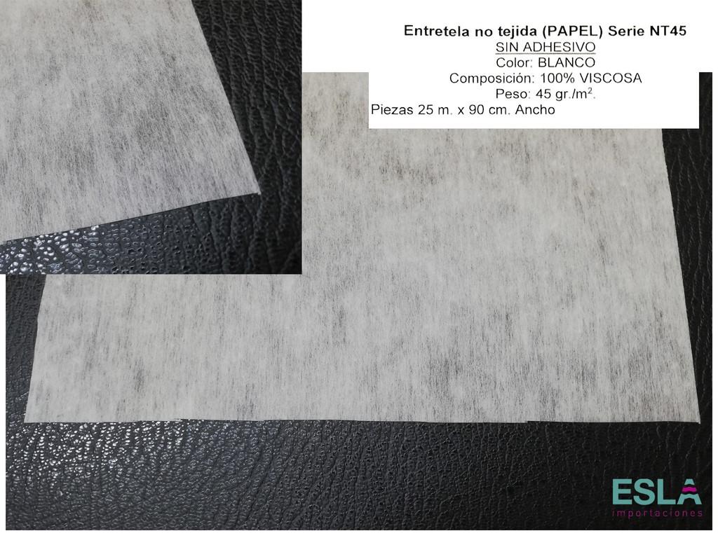 ENTRETELA PAPEL BLANCO NT45