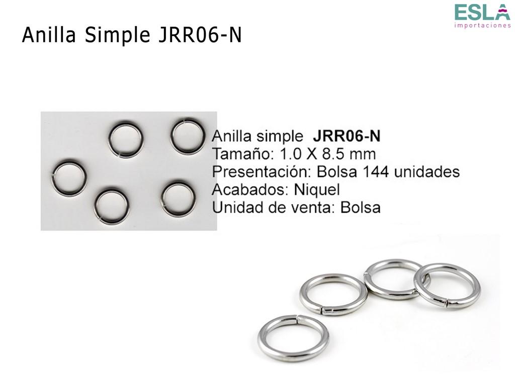 ANILLA SIMPLE JRR06-N