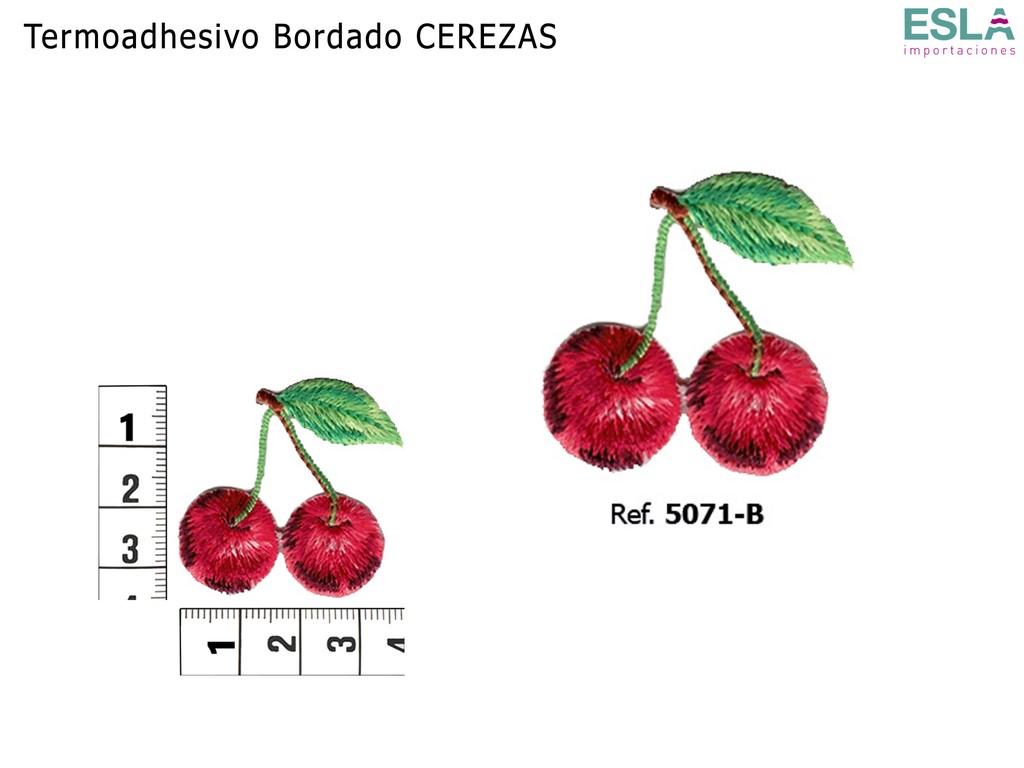 TERMOADHESIVO BORDADO CEREZAS 5071-B