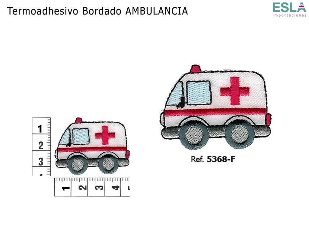 TERMOADHESIVO BORDADO AMBULANCIA 5368-F