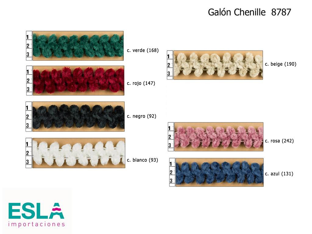 GALON CHENILLE 8787