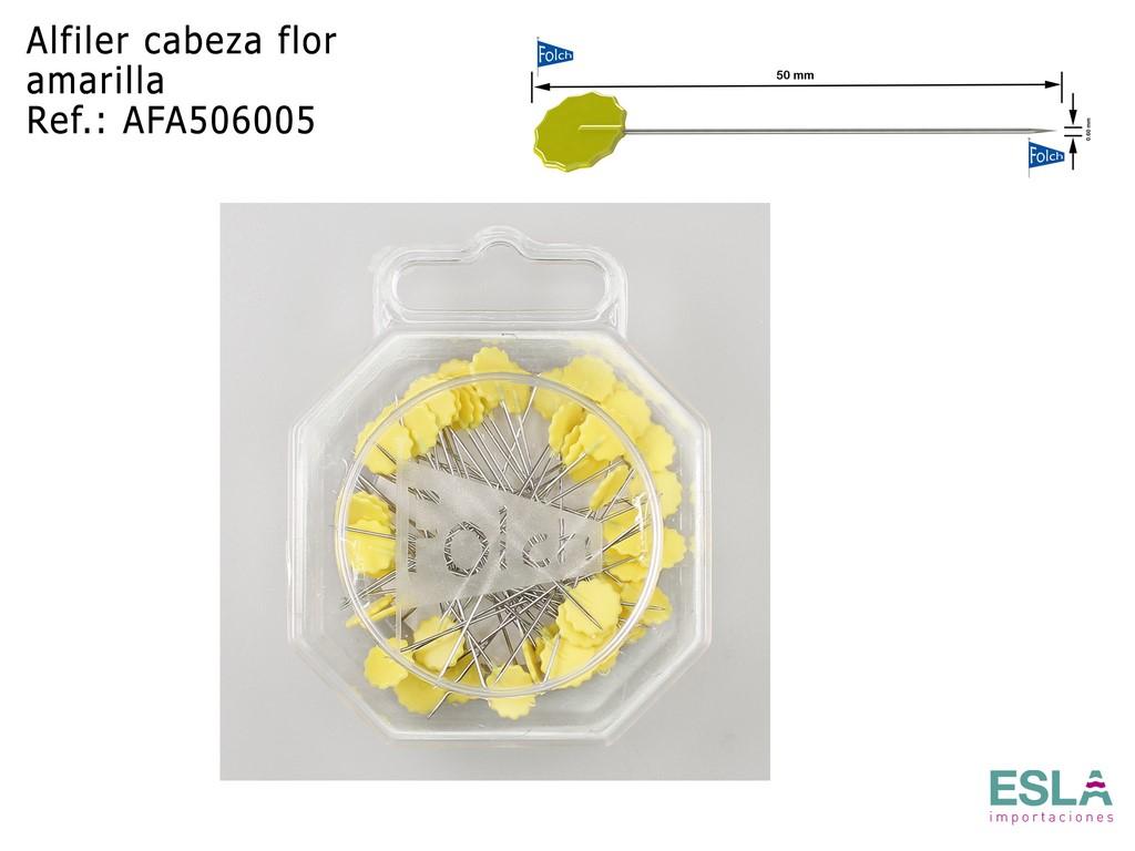 ALFILER CABEZA FLOR AMARILLA AFA506005