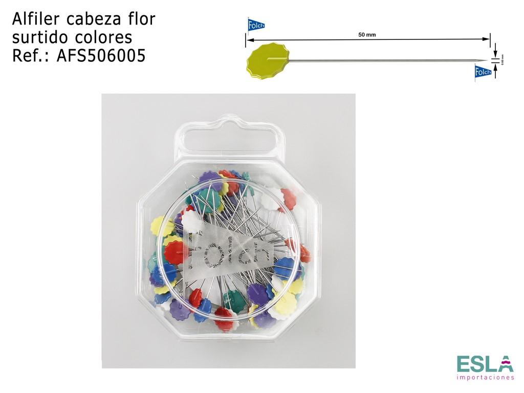 ALFILER CABEZA FLOR COLORES SURTIDOS AFS506005